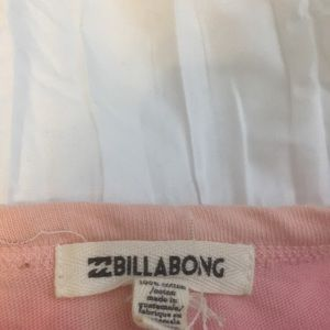 Super cute pink billabong tee